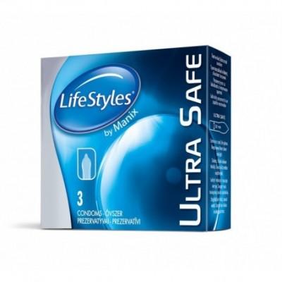Prezervatyvai LIFESTLYES MIX, 3 vnt. (6 rūšys)