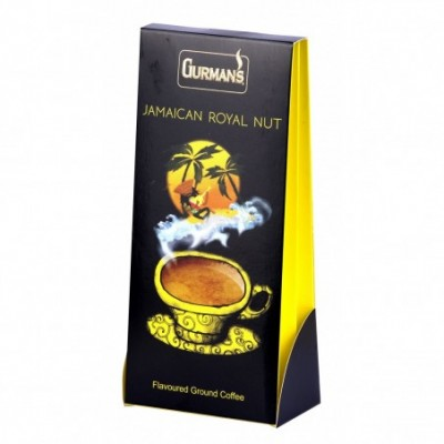 Malta kava GURMAN S Jamaikos karal. riešutų skonio, 125 g
