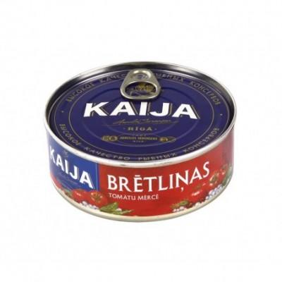 Kepti šprotai klasikiniame pomidorų padaže KAIJA, 240 g