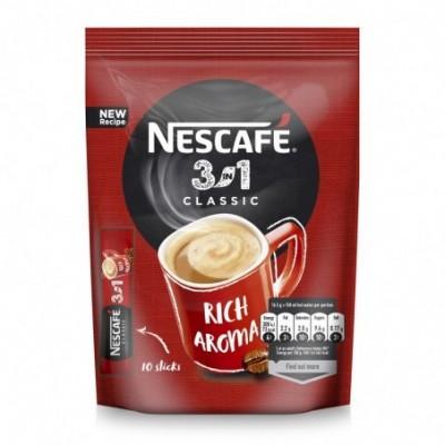 Kavos gėrimas NESCAFE CLASSIC  3in1, maišelis, 10x17,5 g