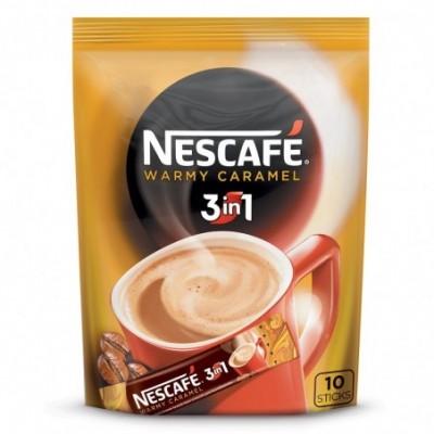 Kavos gėrimas NESCAFE 3in1 karamelės skonio (10x16g), 160 g