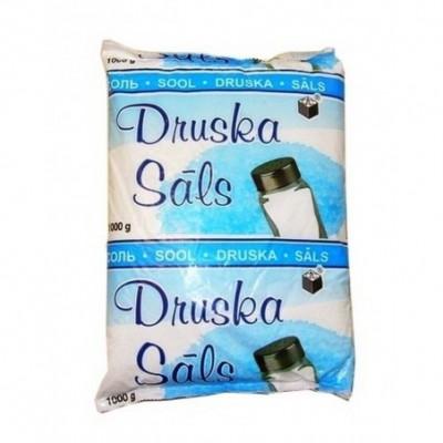 Druska polietileniniame maiselyje 1 kg