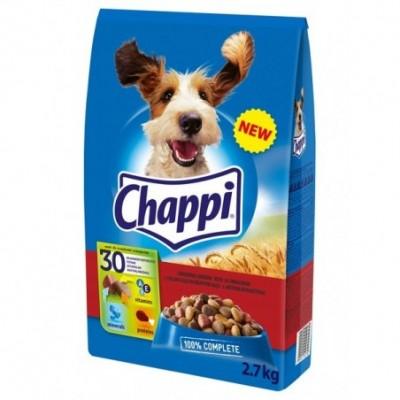 Chappi sausas ėdalas su jautiena ir vištiena 27 kg