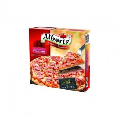 Krosnyje kepta pica prosciutto alberto gr užsaldyta 320 g