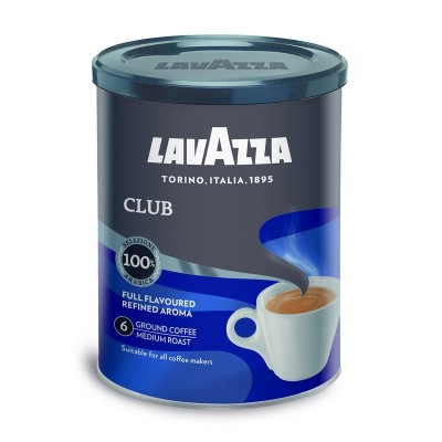 Malta kava LAVAZZA CLUB, metalinėje dėžutėje, 250 g