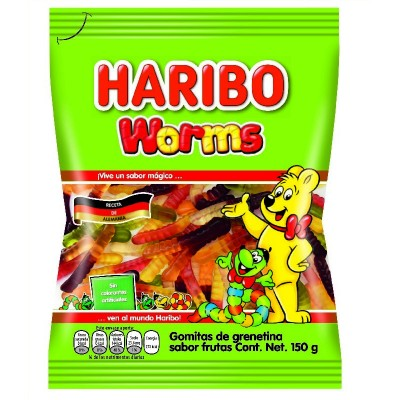 Guminukai Worms HARIBO, 150 g