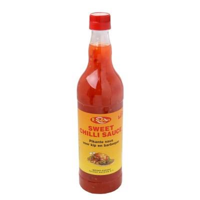 Saldus aitriųjų paprikų padažas EXOFUN, 700 ml