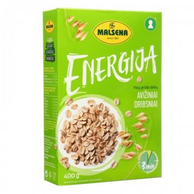Avižiniai dribsniai MALSENA DRIBSNIŲ ENERGIJA (3 min), 400 g