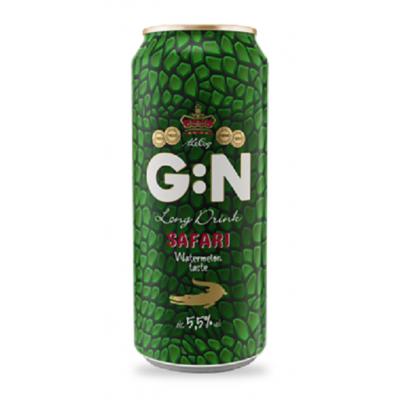 Alkoholinis kokteilis G:N watermelon, 5,5 %, 500 ml