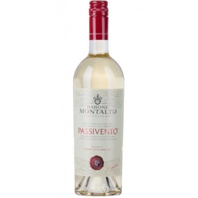 Vynas BARONE MONTALTO PASSIVENTO BIANCO 12,5%, balt. saus., 0.75 l