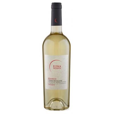 Vynas LUNA ARGENTA BIANCO TERRE SICILIANE 14,5% balt. saus., 0,75 l