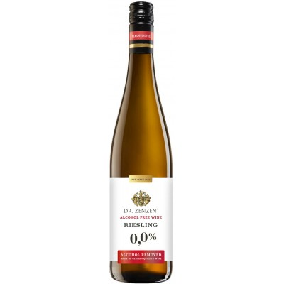 Vynas nealk. DR. ZENZEN RIESLING 0%, balt. sau., 0,75 l