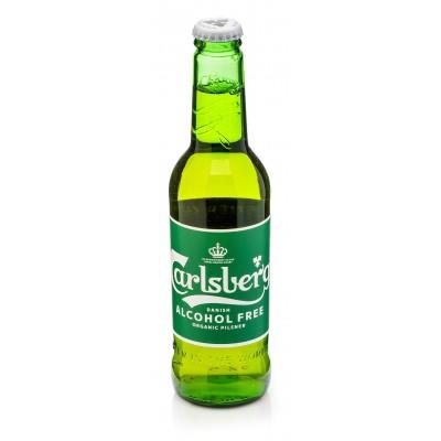 Ekologiškas nealkoholinis alus CARLSBERG, 330 ml
