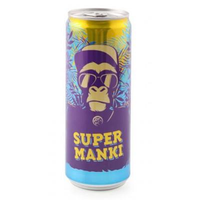 Energetinio sk. gaiv. gėrimas SUPER MANKI, 0,33 l