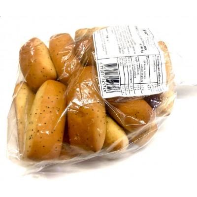 Piršteliai su aguonomis, fas.(maišeliai), 0,25 kg