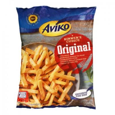 Bulvės fri lygios apkeptos, Arviko Original, 750 g