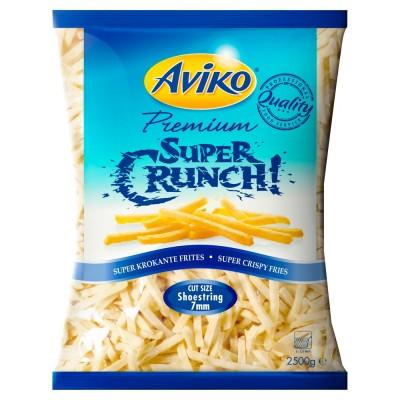 Bulvės fri Super Crunch 2,5 kg, ypač traškios, lygios