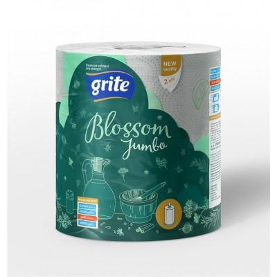 Popieriniai rankšluosčiai GRITE BLOSSOM Jumbo, 1 vnt., (2 sluoks.)