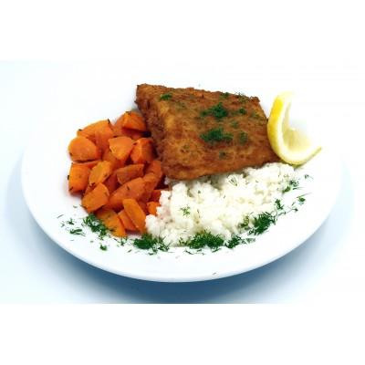 Kepta menkė, su ryžiais, 1 porcija
