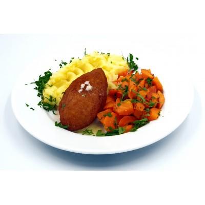 Kijevo kotletas su bulvių koše, 1 porcija