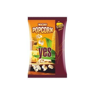 YES Micro Popcorn 90 g, sūrio sk., spraginti kukurūzai